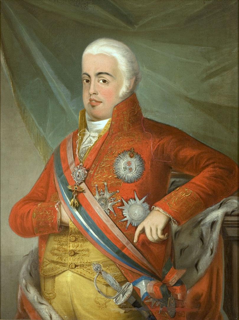 D. João VI died