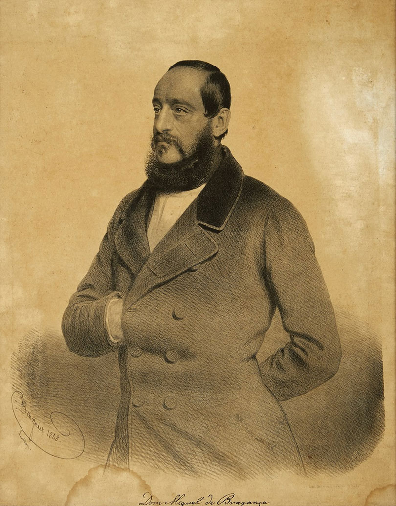 After his first exile, D. Miguel lived in England for five years