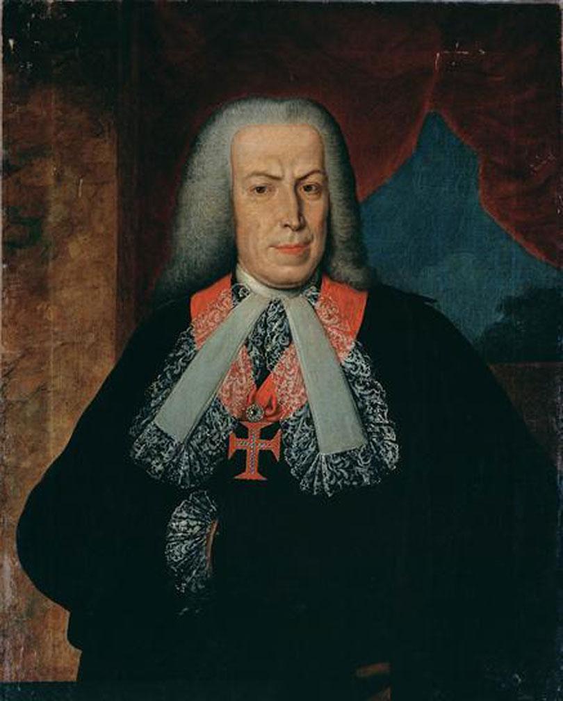Sebastião José de Carvalho e Melo, the future Marquis of Pombal was the Portuguese Minister in London