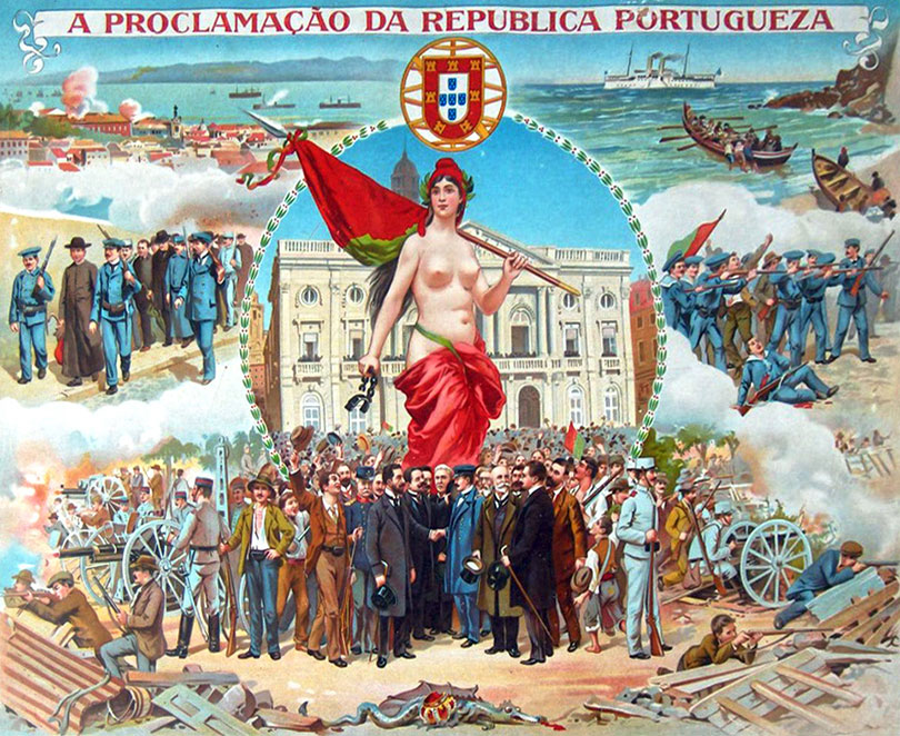 The Republic in Portugal was proclaimed